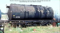 TRL51755 = A755 Class B lagged tank @ South Staffs Wagon Wks, Tipton 83-08-19 � Paul Bartlett w