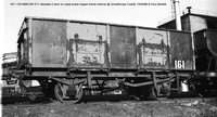 161 = B316863 rebodied 2 door Internal @ Grimethorpe Coalite 88-04-13 � Paul Bartlett [2w]