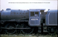 45379 LMS Stanier 4-6-0 Built Armstrong Whitworth works no. 1434 31.07.1937 @ Barry Woodhams 70-11-01 � Paul Bartlett [3w]