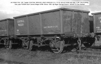 LW 25042 PSO  26T Tippler CENTRAL WAGON @ Wigan Springs Branch 81-4-19 � Paul Bartlett w
