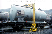 23 70 7397 103-6 TSL UFH Tank wagon @ Swansea Marcrofts works 91-03-09 � Paul Bartlett w