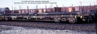 33 70 493 8 537-6 ex 87 493 8 176-5 twin intermodal container flats @ Immingham 2003-10-18 � Paul Bartlett [3w]