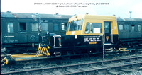 DR90007 [ex 50007 DB965414] Matisa Neptune Track Recording Trolley [PV6 628 1967] @ Bescot 1988-10-09 © Paul Bartlett w