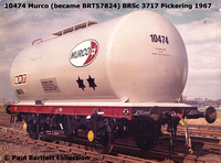 BRT & PR Class A tank wagons 57000 - 58280 TTA TTF TTV Amoco, BP Chemicals, Carless, Elf, Esso, ICI Agriculture, Mobil, Murco, Petrofina, Phillips Petroleum,Total and VIP