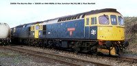 33056 The Burma Star + 33039 @ Hoo Junction 88-02-06 © Paul Bartlett w