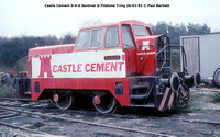 Castle Cement 0-4-0 Sentinel @ Pitstone Tring 91-01-26 � Paul Bartlett w