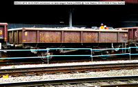 395222 MTA 34.2t EWS conversion on tank wagon frame [c2000] @ York Station 2008-10-23 © Paul Bartlett [1w]