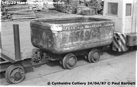 540-23 Mine car 87-04-24 Cynheidre Colliery © Paul Bartlett [1W]