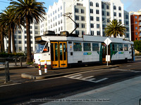 224 Route 16 Melbourne tram @ St. Kilda beach front 15 May 2017 © Paul Bartlett