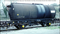 TRL51778 lagged tank @ Radstock Marcrofts C&W 82-04-10 � Paul Bartlett w