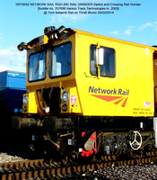 DR79262 Harsco Switch & Crossing Rail Grinder @ York NR Thrall Works 2014-02-20 [02w]