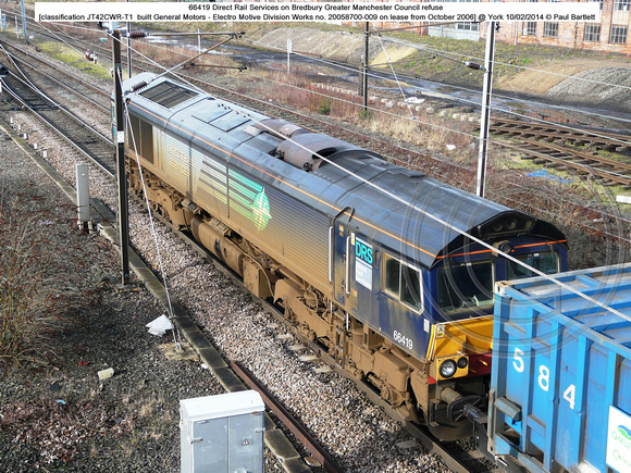 66419 on refuse @ York 2014-02-10  � Paul Bartlett [04w]