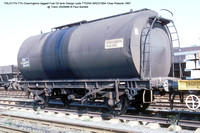 TRL51774 TTA Charringtons lagged tank @ Toton 86-09-20 � Paul Bartlett w