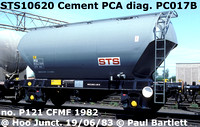 STS10620 Cement