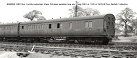 W4664W Non Corridor brake 3rd Diag D86 � Paul Bartlett Collection w
