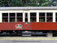 Coach CKV 5004 of Kurunda Scenic Railway, Queensland 28-09-2014 � Paul Bartlett DSC06304