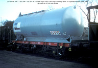 21 70 0785 104-1 = STS 104-1 TSL UFH Tank wagon @ Grays 79-12-29 � Paul Bartlett [2w]