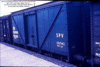 E87142 EXPRESS PARCELS SPV ex Fish @ Southall 70-03-06 � Tony Dyer, Paul Bartlett collection w